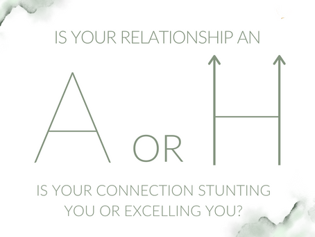 IS YOUR RELATIONSHIP STUNTING OR EXCELLING YOU?