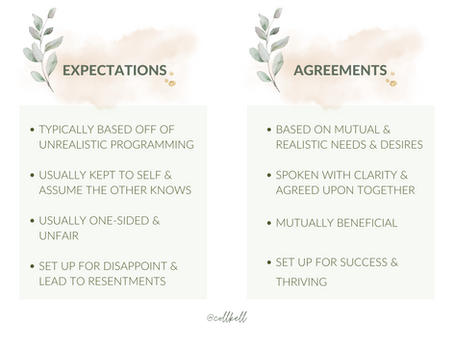 IS YOUR 'TRUST' BUILT ON EXPECTATIONS OR AGREEMENTS?