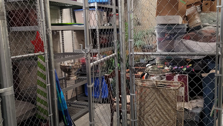 North Hills: Storage Clean-out and New Garage Set-up