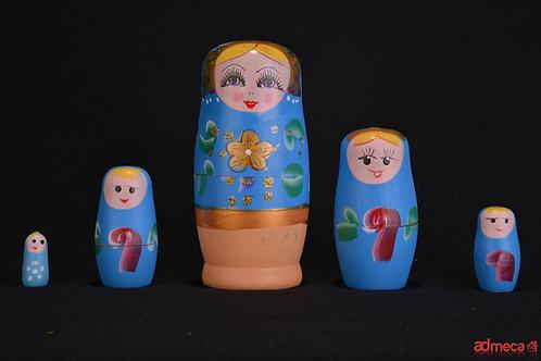 Matrioshka o muñeca rusa