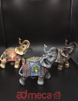 Elefantes decorativos x3