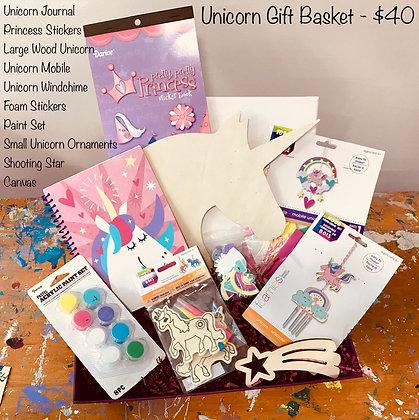 Unicorn Gift Basket
