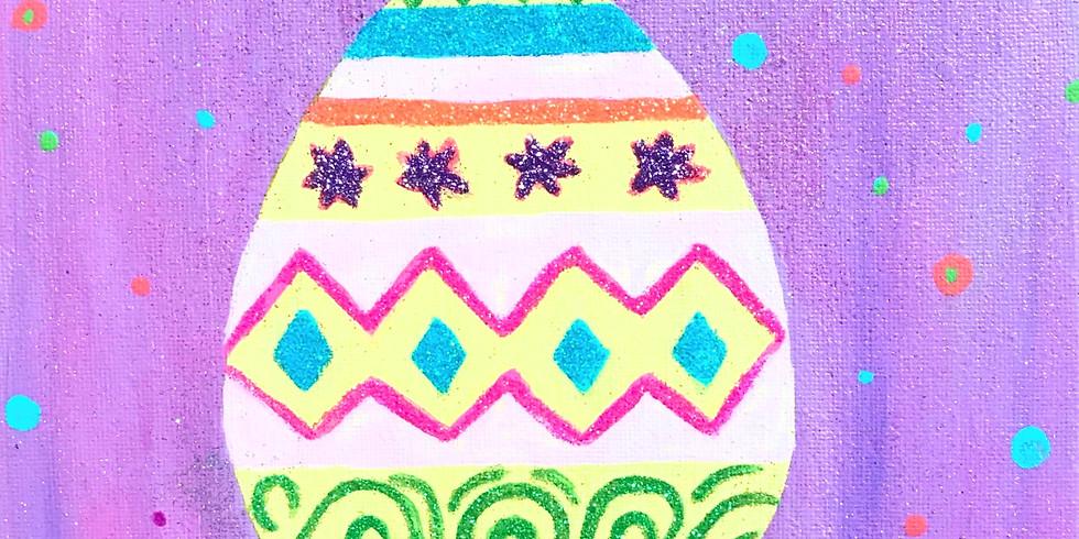 Easy Egg Painting