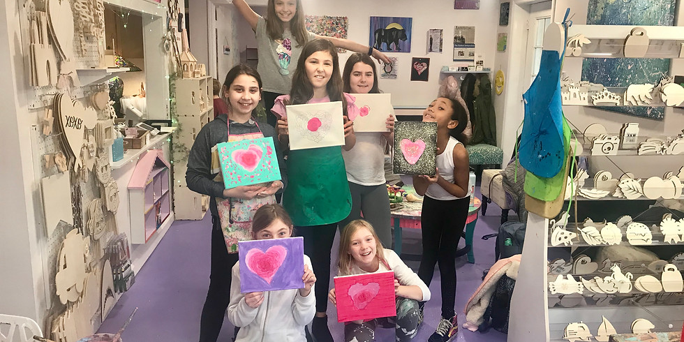 Painting 4pm Age 9-12 (4 Sessions)