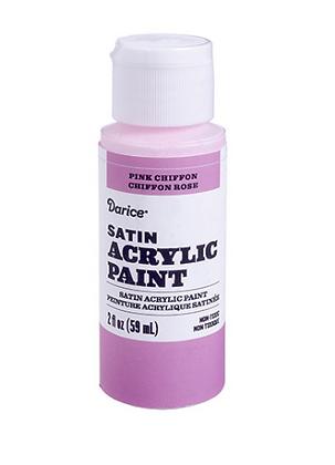 Pink Chiffon Acrylic Paint 2oz