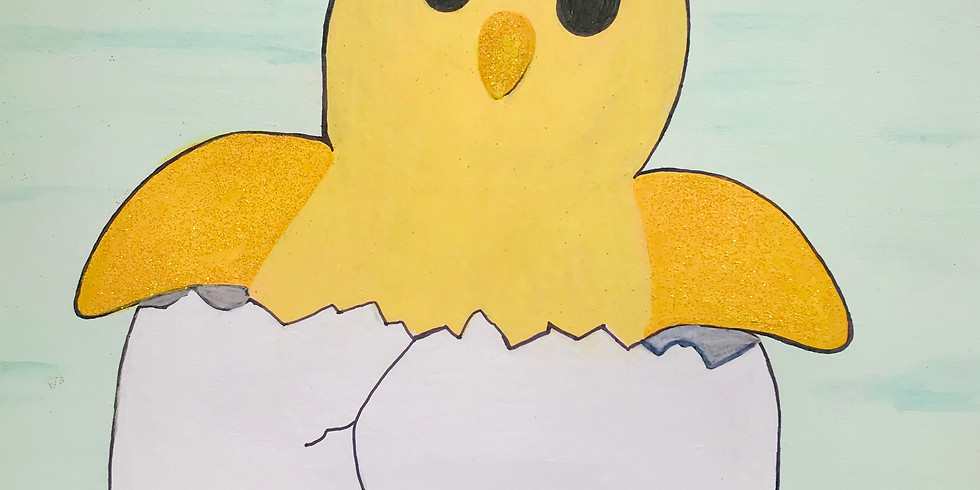 Spring Chick Painting (Single Class)