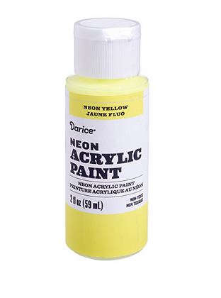 Yellow Acrylic Paint 2oz