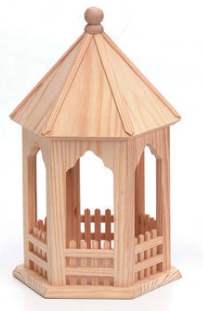 Wood Gazebo