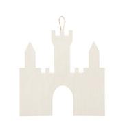 """Large Wood Castle 12"""""""