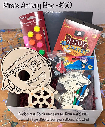 Pirate Activity Box
