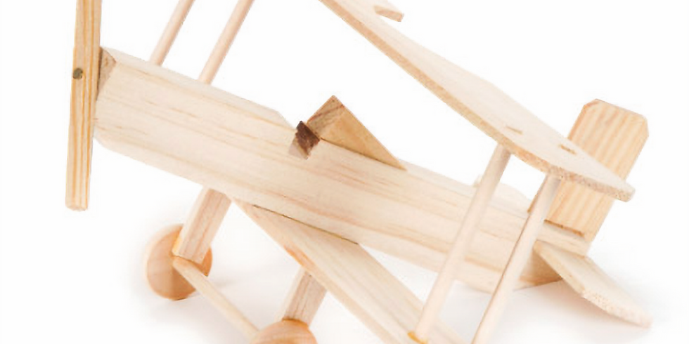 Wood Model Building 3pm Age 6+  (2 Sessions)