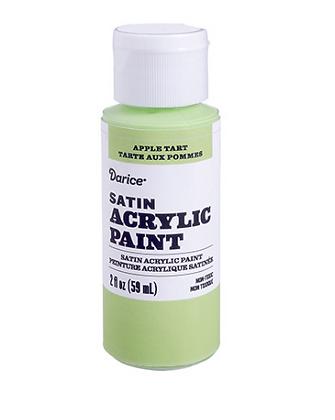Apple Tart Green Acrylic Paint 2oz