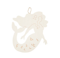 """Large Wood Mermaid 12"""""""