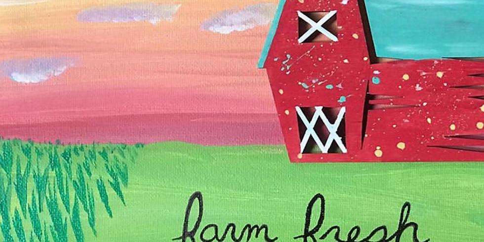 Summer Studio Week 7: July 27-July 30 - On the Farm, Gardens & Summer Harvest