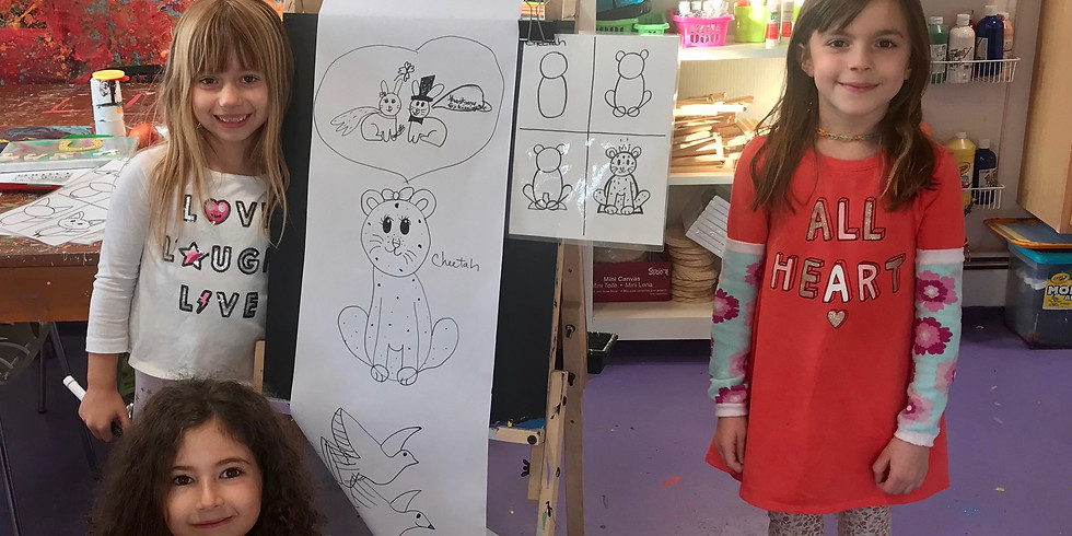 Drawing Ages 6-12
