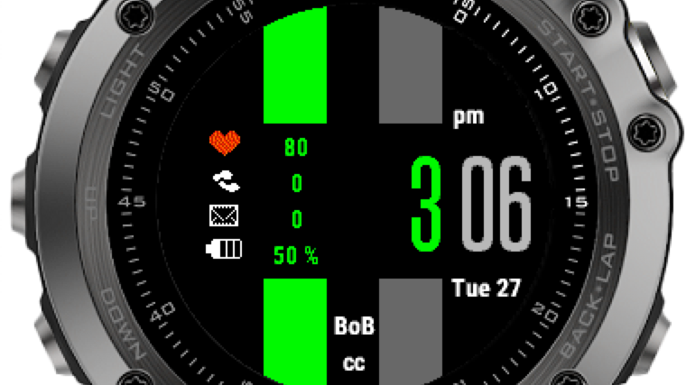 BoB Watch App Fenix 3 / 3HR