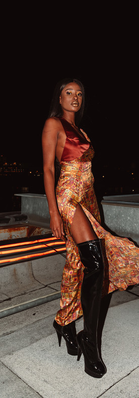 The Golden Hour Slip Dress