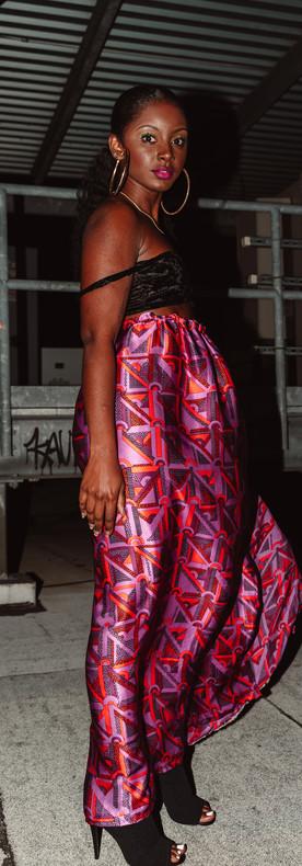 Silk Sac Skirt