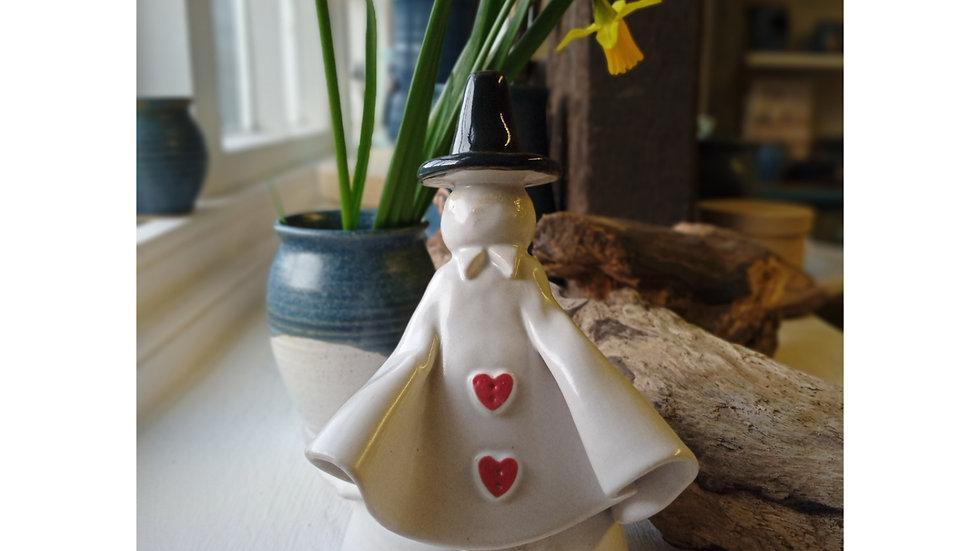Ceramic Welsh Lady