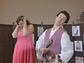 Orfeus (Jaroslav Chaloupka) a Persefona (Aneta Cimirotová)