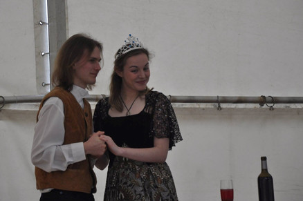 Jiřík (David Karban) a princezna Lenka (Adéla Řehořová)