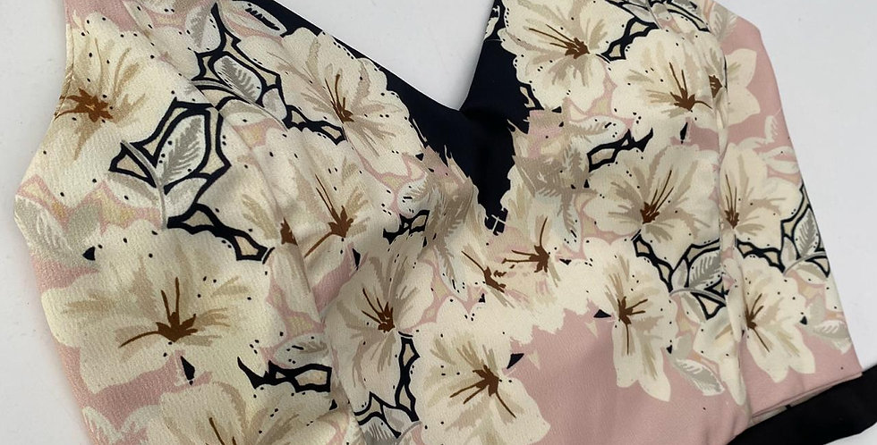 CROP TOP LESS SPECIAL ABANICO FLORAL