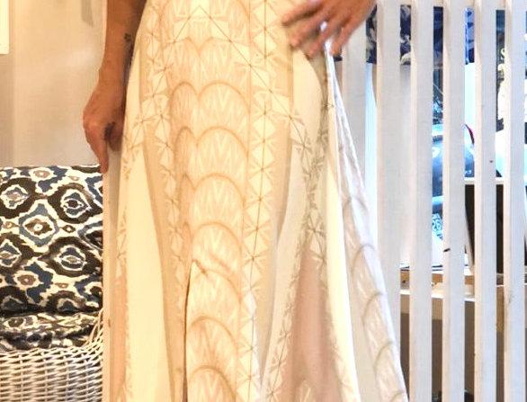 Vestido Ablusado Art Deco