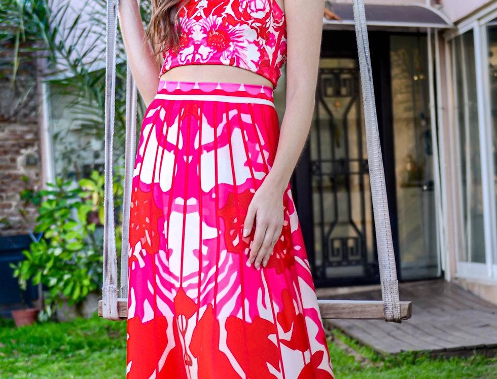 Falda Media Campana Special Caribe