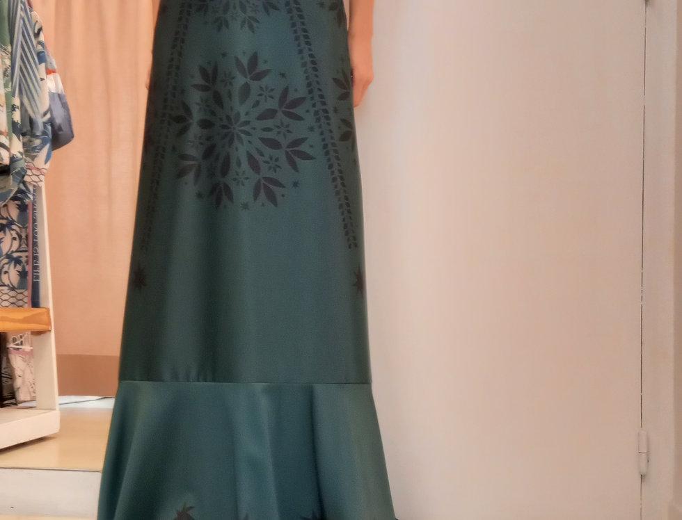 Vestido Caracol Verde