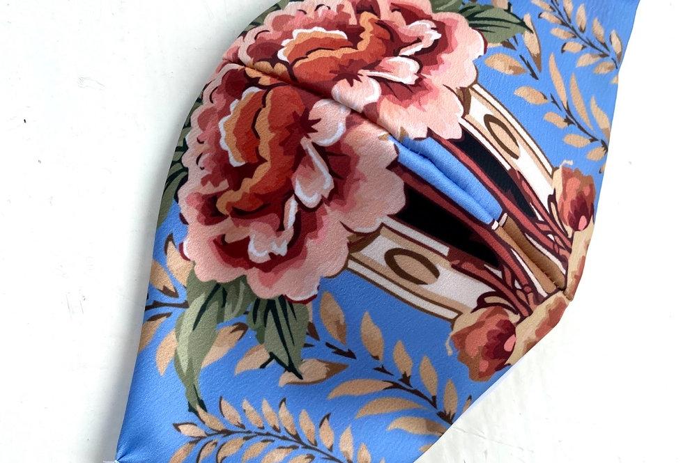 Barbijo Tropico lavanda  (satén)