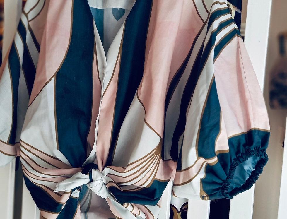Camisa Globo Art Deco