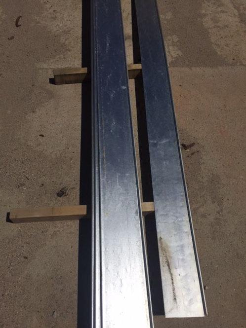 """Rolltop 6"""" tall 10' long 14 Gauge"""