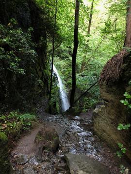 Waterfalls near Crego
