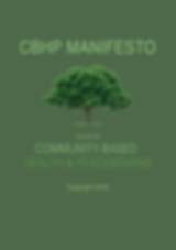 Community-Based Health & Healing Manifesto 2018