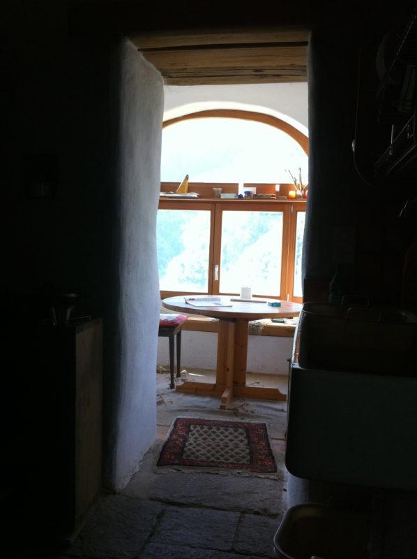 Living room in Casa Ambientale