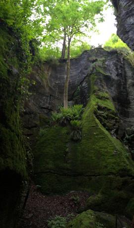 Ravines near Crego