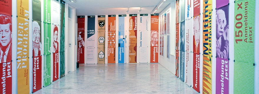 Ausstellung unserer Plakate im Werkraum Ulm