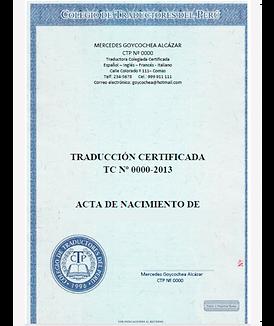 traducciones certificada