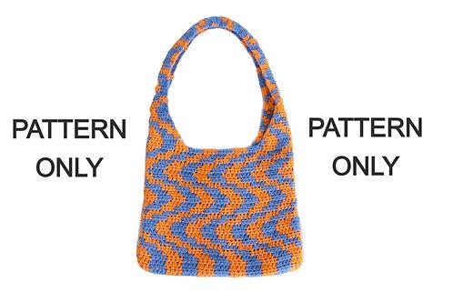 Crochet Wavy Bag Pattern
