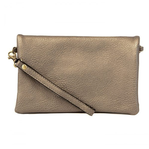 New Kate Crossbody Clutch-Pewter