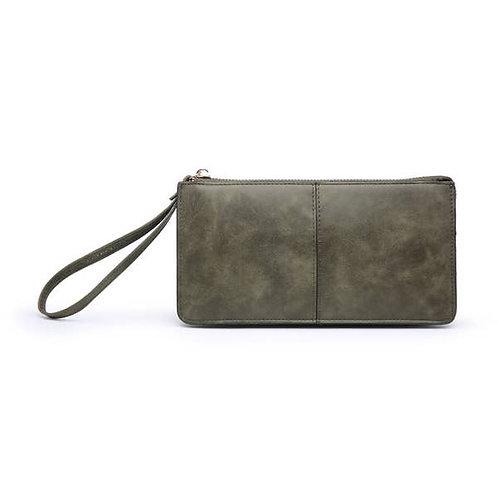 RFID Wallet/Wristlet-Olive