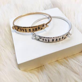 Fur Mama Bangle Bracelet