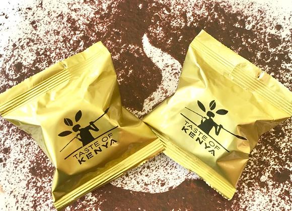 Taste of Kenya Coffee Sachets