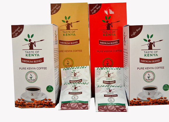 Taste of Kenya Coffee Sachets