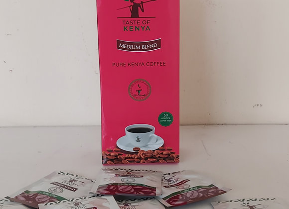 100gms Enveloped Coffee Sachets