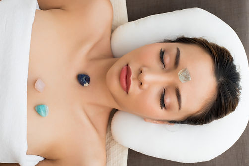 Body Massage on specific points of Mix R