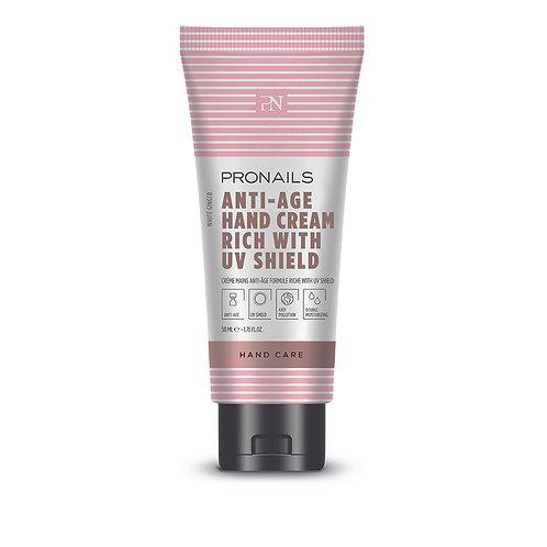 Anti-Âge Hand Cream Rich UV Shield