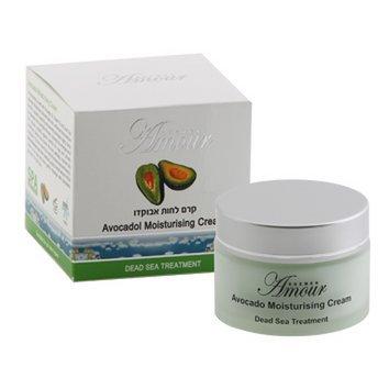 Avocado hydraterende crème met Dode Zee mineralen 50 ml