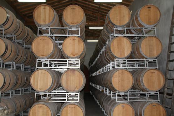Vignobles Boudat Cigana - Chai à barrique