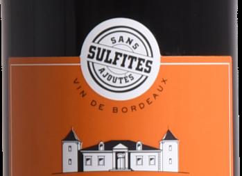 Château Laroque Thomas - Bordeaux SANS SULFITES AJOUTÉS 2017